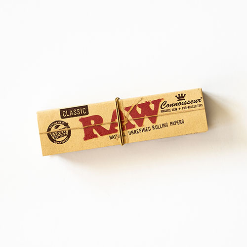 RAW Connoisseur Kingsize slim + Tips