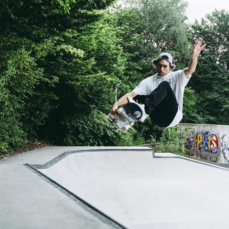 Muke Deuring im Skatepark Bregenz